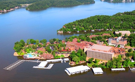 Stay at Tan-Tar-A Resort in Osage Beach, MO. Dates into December.