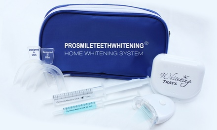 $25 for Teeth Whitening Kit with Lifetime Whitening Refills from Pro Smile Teeth Whitening ($199 Value)