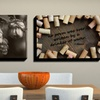 $34.99 for a Grapes and Grains Canvas Print