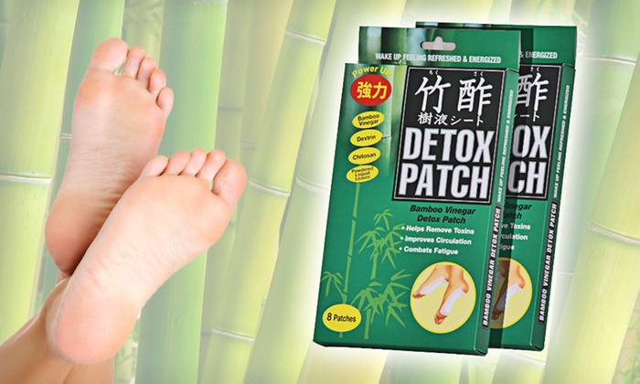Two Japanese Bamboo Vinegar Foot Detox Patch Eight-Packs: $14 for Two Eight-Packs of Chikusaku Japanese Bamboo-Vinegar Foot-Detoxification Patches ($37.90 List Price)