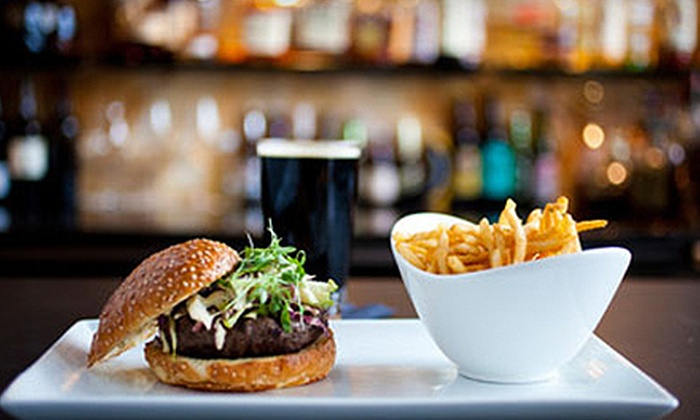 H5O bistro & bar - Downtown Portland: $25 for $50 Worth of American Food and Drinks for Dinner at H5O bistro & bar