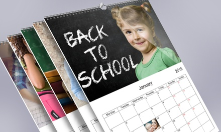 Custom Photo Wall Calendars from $5.99 - $24.99 from Printerpix. Three Options Available.