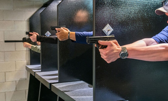 Mass Firearms School - Holliston: $49for a Four-Month Range Membership with Free Unlimited Gun Rentals at Mass Firearms School ($140Value)