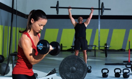 One or Three Months of CrossFit with a 101 Introductory Course at CrossFit RTB (Up to 42% Off)