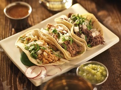Azteca Mexican Grill: $5 Off any order $25 or more  at Azteca Mexican Grill