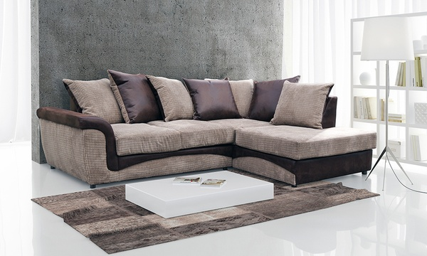 Aston Fabric Corner Sofa In Choice Of Colour For 329 With Free Delivery 53