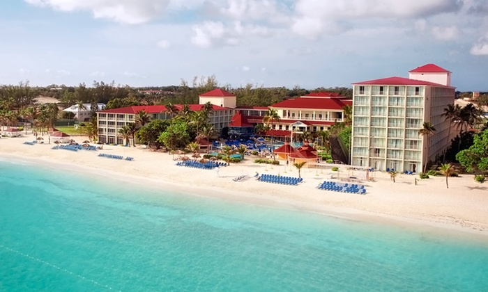 All-Inclusive Breezes Nassau Resort Vacation with Airfare - Nassau, Bahamas: 5-Night All-Inclusive Bahamas Vacation with Airfare from Vacation Express. Price/person Based on Double Occupancy.