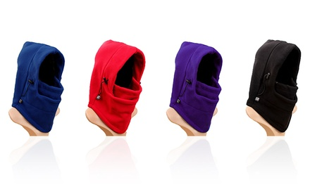 World Blue Hoodie Mask in Fleece