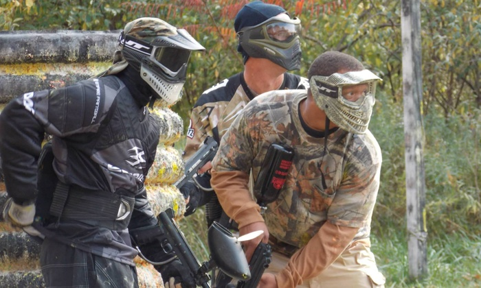 Action Paintball - Taylor: Paintball Package at Action Paintball Park LLC (60% Off)