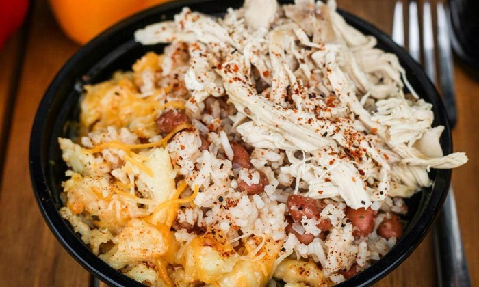 Postcards Central American Soul Food Truck - East Los Angeles: Soul Food for 2 or 4, or Catering for Up to 10 or 20+ from Postcards Central American Soul Food Truck (Up to 52% Off)