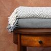 Diamond-Textured 100% Cotton Throw Blankets (2-Pack)