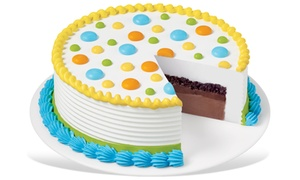 Dairy Queen: Eight- or Ten-Inch Ice Cream Cake at Dairy Queen (Up to 52% Off)