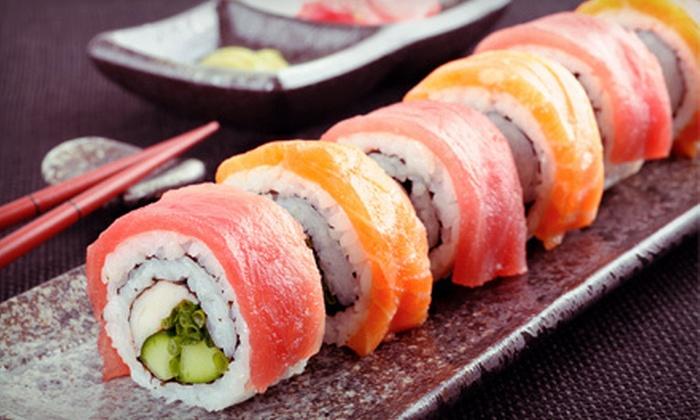 I Love Sushi - Mason: Japanese Fare for Dinner or Lunch at I Love Sushi in Mason (Half Off)