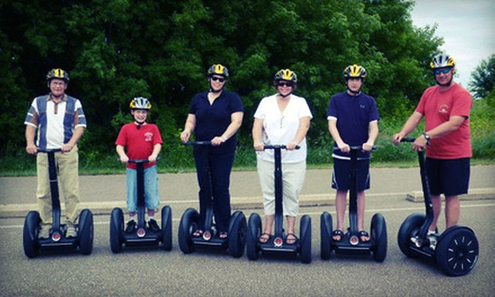 All American Segway - Multiple Locations: 90-Minute Haunted History, Lake McKusick, or Border-Crossing Segway Tour from All American Segway (Up to 52% Off)