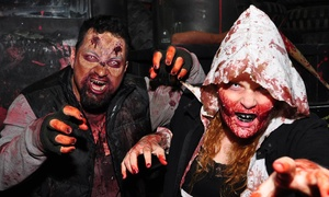Zombie Apocalypse Experience Las Vegas: Zombie Experience for One or Two with Optional Shirts from Zombie Apocalypse Experience Las Vegas (Up to 41% Off)