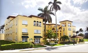 1920s-Era Palm Beach Hotel near Ocean