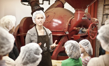 $8 for a Factory Tour for Two with Take-Home Chocolate at Taza Chocolate ($15 Value)