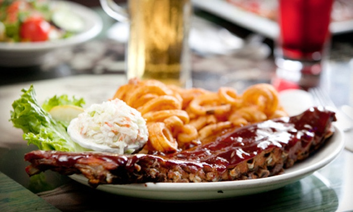 Blue 60 - Creekside of Long Grove: $10 for $20 Worth of Burgers, Steaks, and Pizza at Blue 60 in Mundelein