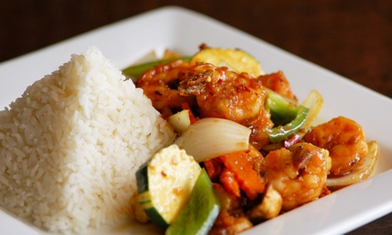 Thai Food at Tuk Tuk Thai Bistro (Up to 44% Off). Two Options Available.