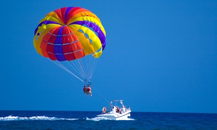 SUP Lesson and Rental or Parasailing for One or Two at Hampton Beach Parasail (Up to 46% Off)