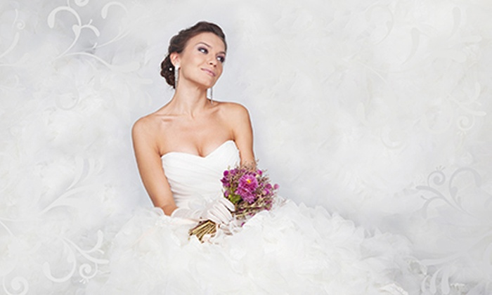 Brilliant Bridal - Dobson Ranch: Bridal Wear and Accessories at Brilliant Bridal (Up to 51% Off). Three Options Available.