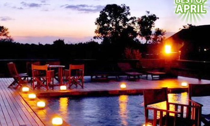 Mangwa Valley Game Lodge - Mangwa Valley Game Lodge: Pretoria: Stay for Two at Mangwa Valley Game Lodge, Including Breakfast, a Game Drive and Massage