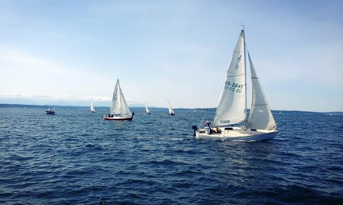 Seattle Sailing Club - Ballard (Shilshole Bay Marina): $199 for One ASA 101 Basic Keelboat Sailing Certification Course at Seattle Sailing Club ($395 Value)