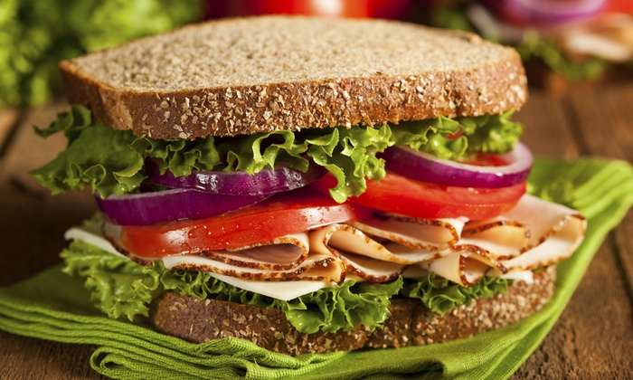 Subway - Multiple Locations: Five Sandwiches at Subway (80% Off)