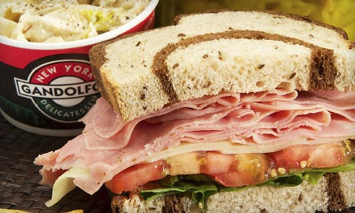 Gandolfo's New York Delicatessen - Reno: Deli Food or Sandwich Catering Trays at Gandolfo's New York Delicatessen (Up to 53% Off)