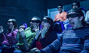 9D Adventure Extreme Cinemas: Two Movie Tickets at 9D Adventure Extreme Cinemas (40% Off)