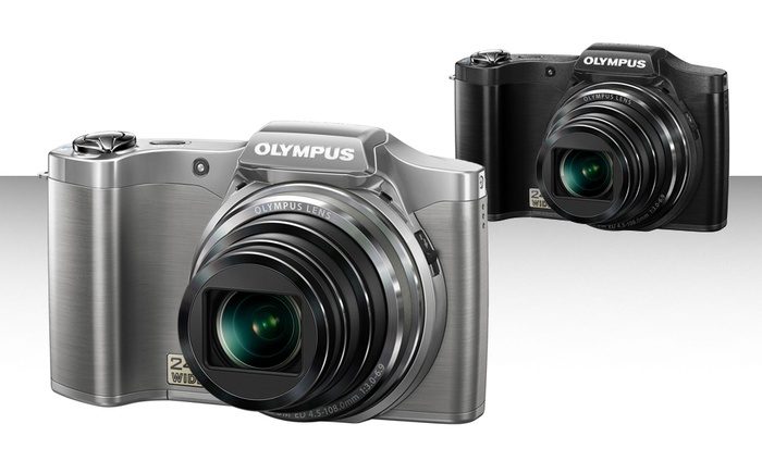 Olympus 24x Wide-Angle Zoom 14MP Digital Camera (SZ-12): Olympus 14-Megapixel Digital Camera with 24x Wide-Angle Zoom in Black or Silver (SZ-12)