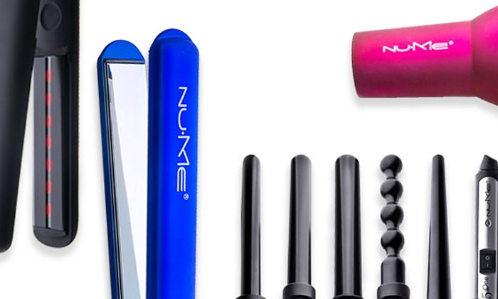 NuMe: C$15 for C$120 Toward Hairstyling Tools and Products from NuMe