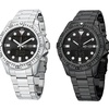 SO & CO New York Men's Multifunction Dual-Display Watch