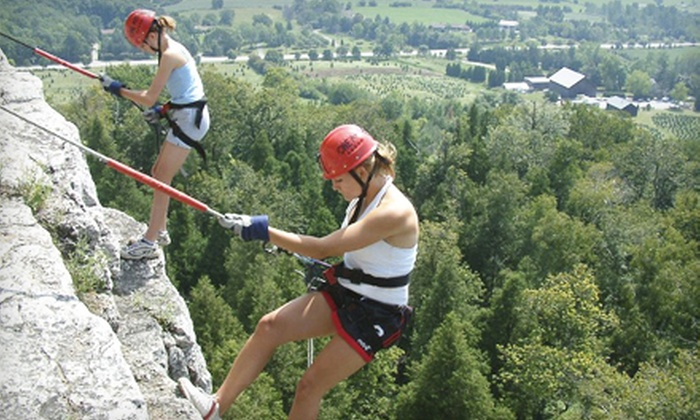 One Axe Pursuits - Elora: Six-Hour Cliff-Rappelling Adventure on Saturday, April 6, 13, or 20 from One Axe Pursuits (51% Off)