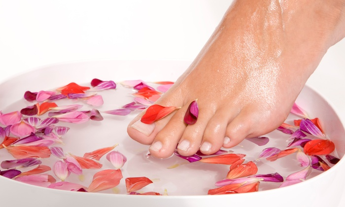 Create A New Body Spa  - Branson: Three or Five Ionic Detox Footbaths at Create A New Body Spa (Up to 56%Off)