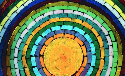 Mosaic Fused-Tile, Basket-Weave, or Glass-Flower Class at Rainbow Glass (Up to 52% Off)