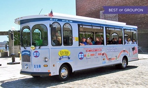 Cityview Trolley Tours: Trolley Tour and Harbor Cruise for One, Two, or Four from CityView Trolley Tours (Up to 55% Off)