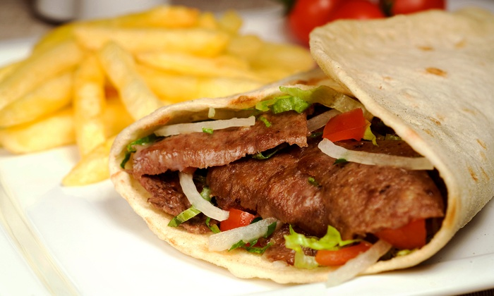 It's a Wrap - Hilltop: $9 for $16 Worth of Mediterranean and American Food at It's a Wrap