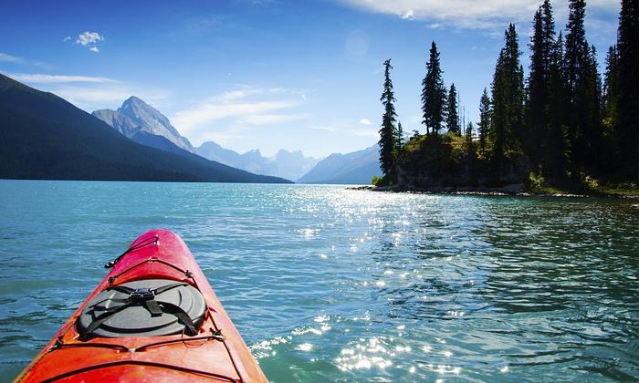 Brentwood Bay Resort & Spa - Brentwood Bay Resort: Double Kayak Rental or Stand-Up Paddleboard Rental for Two or Four Brentwood Bay Resort & Spa (Up to 54% Off)