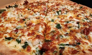 D'Tutanelli's Pizza: Two Groupons, Each Good for $15 Worth of Pizza and Subs or a Pizza Meal for Four at D'Tutanelli's Pizza (Up to 48% Off)