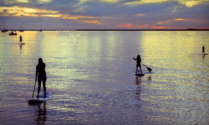 Precision Paddleboards - Multiple Locations: $15 for a One-Hour Tour with Instruction from Precision Paddleboards ($35 Value)