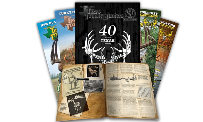 Texas Trophy Hunters Association: $9 for 12-Month Magazine Subscription and Membership from Texas Trophy Hunters Association ($24 Value)
