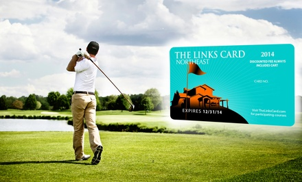 groupon daily deal - One or Two Golf-Membership Links Cards with a Lob Wedge or a Hybrid Golf Club (Up to 85% Off)