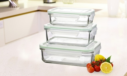 Glasslock Glass Food Storage Container Sets
