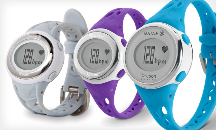 Gaiam Heart-Rate Monitors: Oregon Scientific Gaiam Heart-Rate Training Monitors (Up to 84% Off). Six Options Available. Free Shipping and Returns.