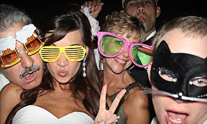 Snap Photobooth - Houston: Two- or Four-Hour Photo-Booth Rental from Snap Photobooth (62% Off)