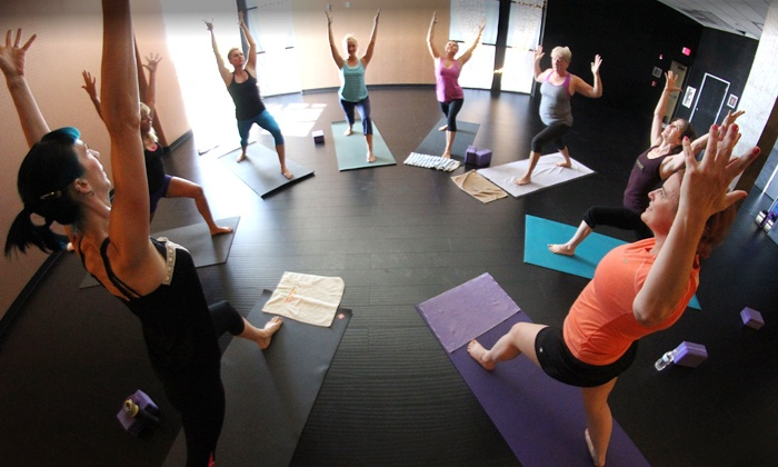 City Athletic Club - Las Vegas: One- or Two-Month Yoga Membership with Gym Membership at City Athletic Club (Up to 86% Off)