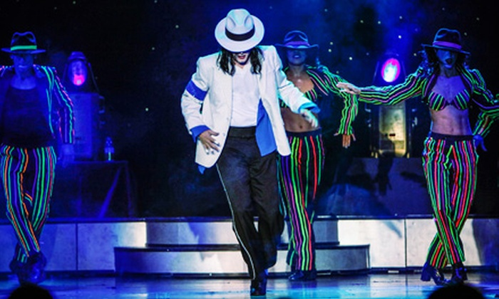 MJ Live: A Michael Jackson Tribute Concert - Paradise: VIP Ticket to MJ Live: A Michael Jackson Tribute at Crown Theater at Rio Las Vegas Through July 31 (Up to $65.75 Value)
