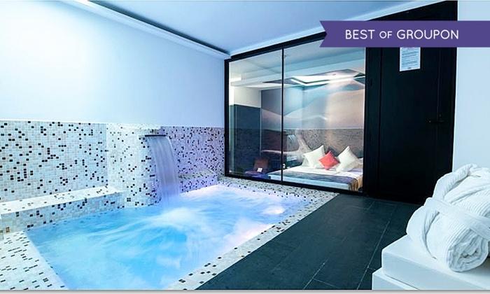 Hotel loob en madrid madrid groupon getaways for Suite con piscina privada madrid