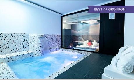 Madrid: 1 noche para 2 en Suite tipo Junior, Máster o Luxury con opción a jacuzzi o piscina en Hotel & Suites Loob Oferta en Groupon